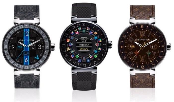 La Snapdragon Wear 3100 pour la nouvelle smartwatchTambour Horizon de Louis Vuitton
