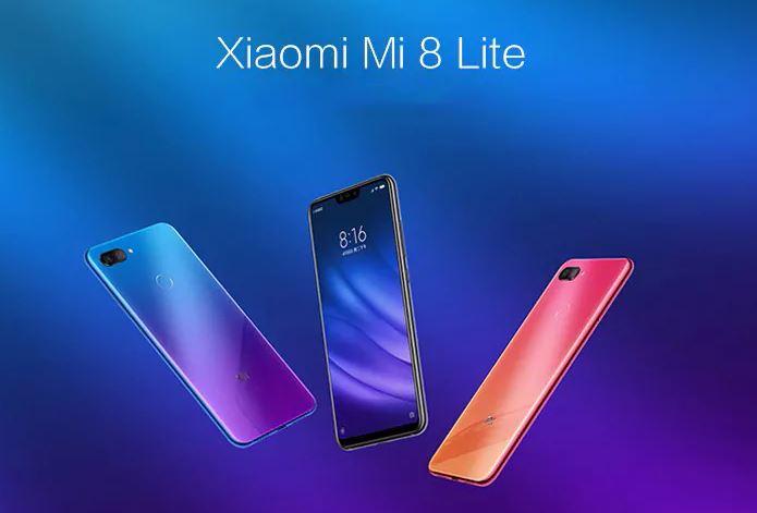 Soldes d'hiver 2019 : le Xiaomi Mi 8 Lite à partir de 204 euros sur GearBest