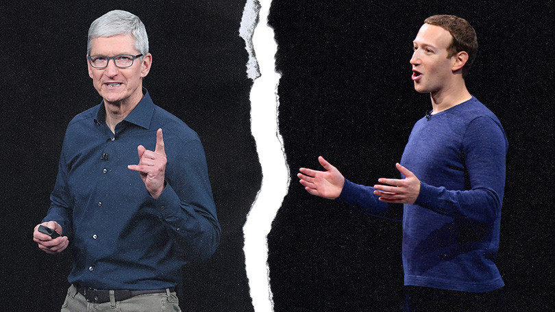 Apple punit Facebook et bloque ses applications internes