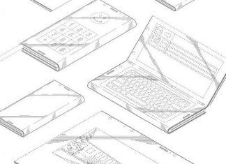 Le brevet d'Intel sur un smartphone pliable