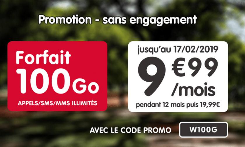 Bon plan : le forfait 100 Go de NRJ Mobile est toujours à moins de 10 euros