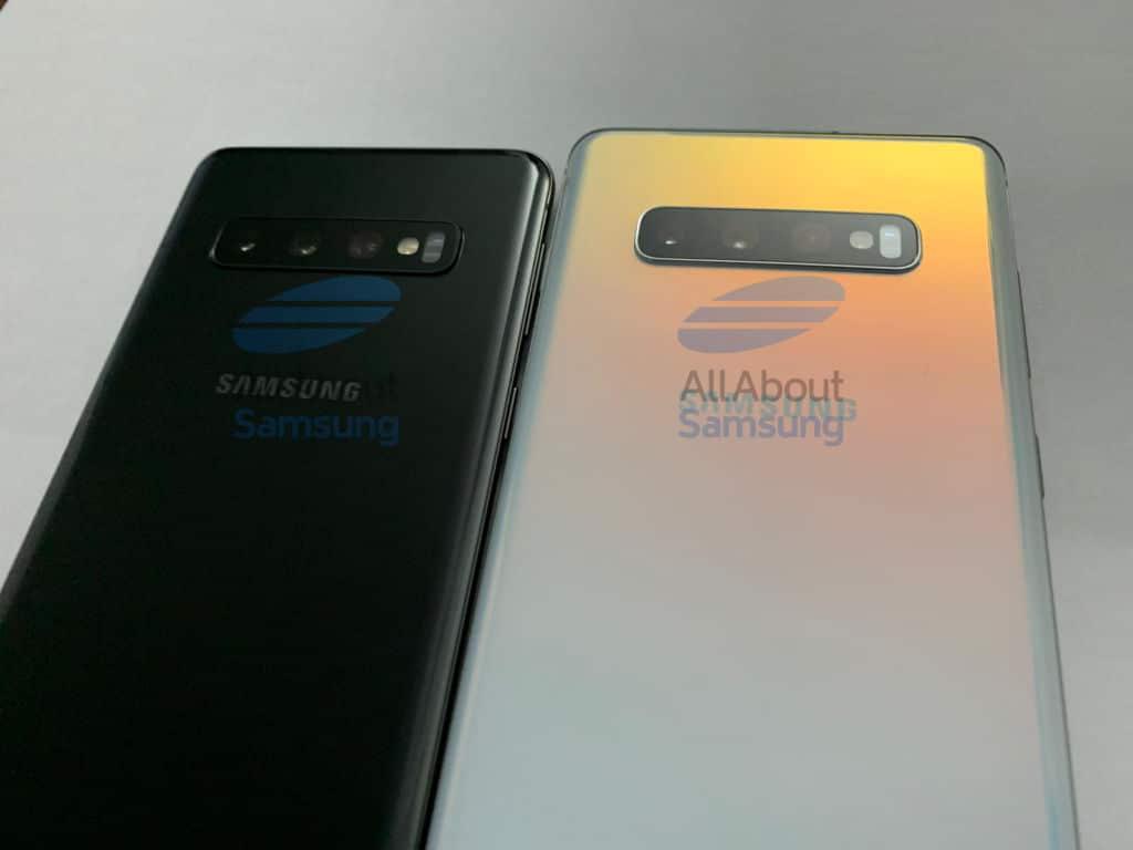 Samsung Galaxy S10 et Galaxy S10+ : ils ont de nouveau été pris en photos !