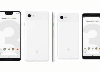 Google Pixel 3 XL et Google Pixel 3