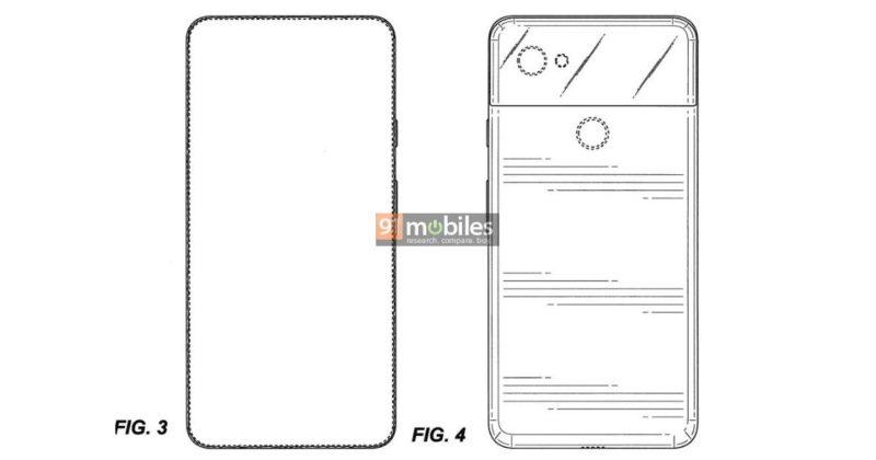 Un brevet sur le Google Pixel 4