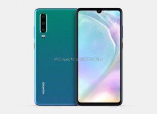Huawei P30 - Source : OnLeaks
