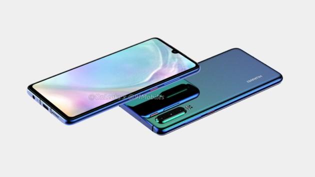 huawei p30 onleaks 4 630x354 - MWC 2019 : découvrez les futurs smartphones au Mobile World Congress de Barcelone !