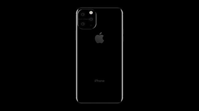iPhone 11 : un premier rendu avec trois caméras positionnées bizarrement