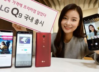 LG Q9 officiel !