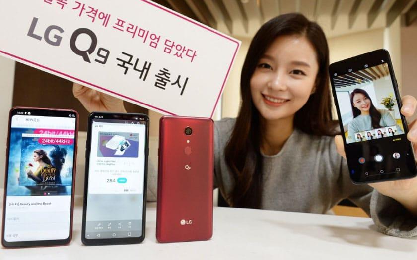 Le LG Q9 officiel et on ne comprend toujours pas la marque