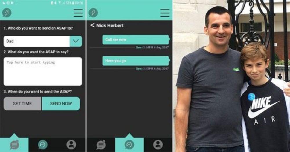 Insolite : un père crée une application pour forcer son fils à répondre à ses messages