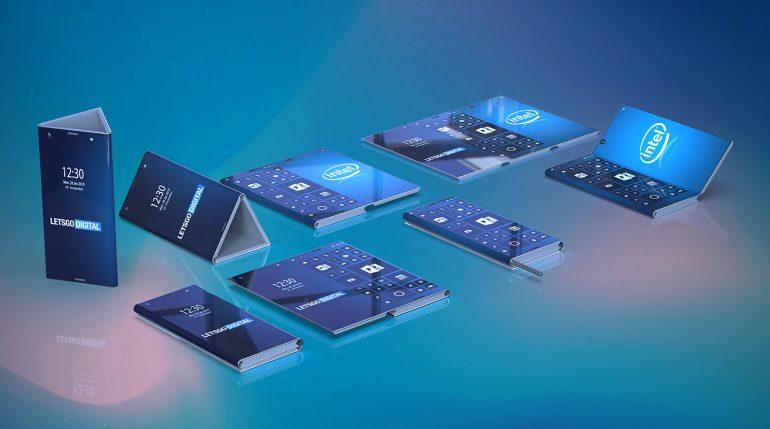 Le smartphone pliable d'Intel
