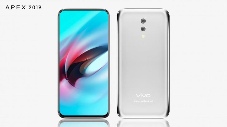 Vivo APEX 2019 : le premier smartphone sans port de l'histoire ?