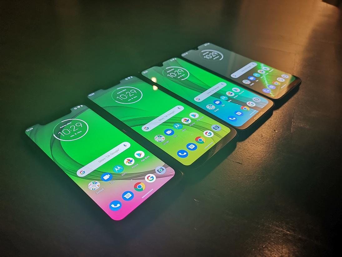 [ Prise en main ] Motorola Moto G7 : quatre smartphones prêts à toucher tous les consommateurs !