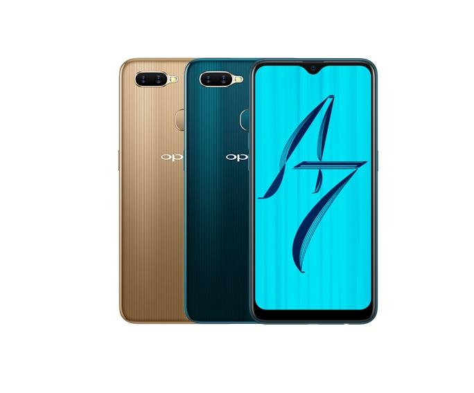 Soldes d'été 2019 : le Oppo AX7 bleu à 199 euros au lieu de 249 euros sur Darty