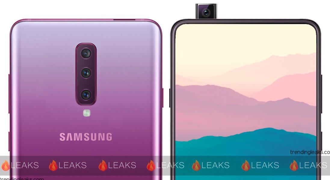 Le Samsung GalaxyA90 serait équipé d'un appareil photo frontal rétractable