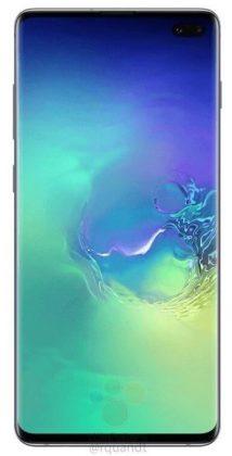 Samsung Galaxy S10 Plus WinFuture 214x420 - Samsung Galaxy S10 et S10+ : ces rendus presse seraient officiels