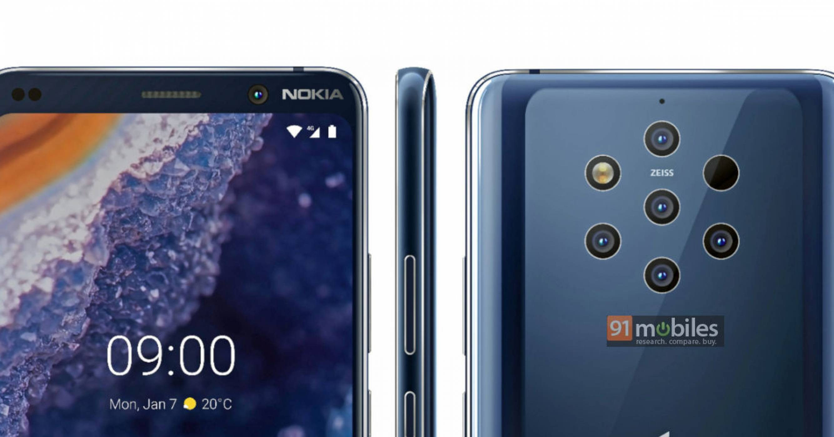MWC 2019 : Google laisse fuiter la fiche technique du Nokia 9 PureView