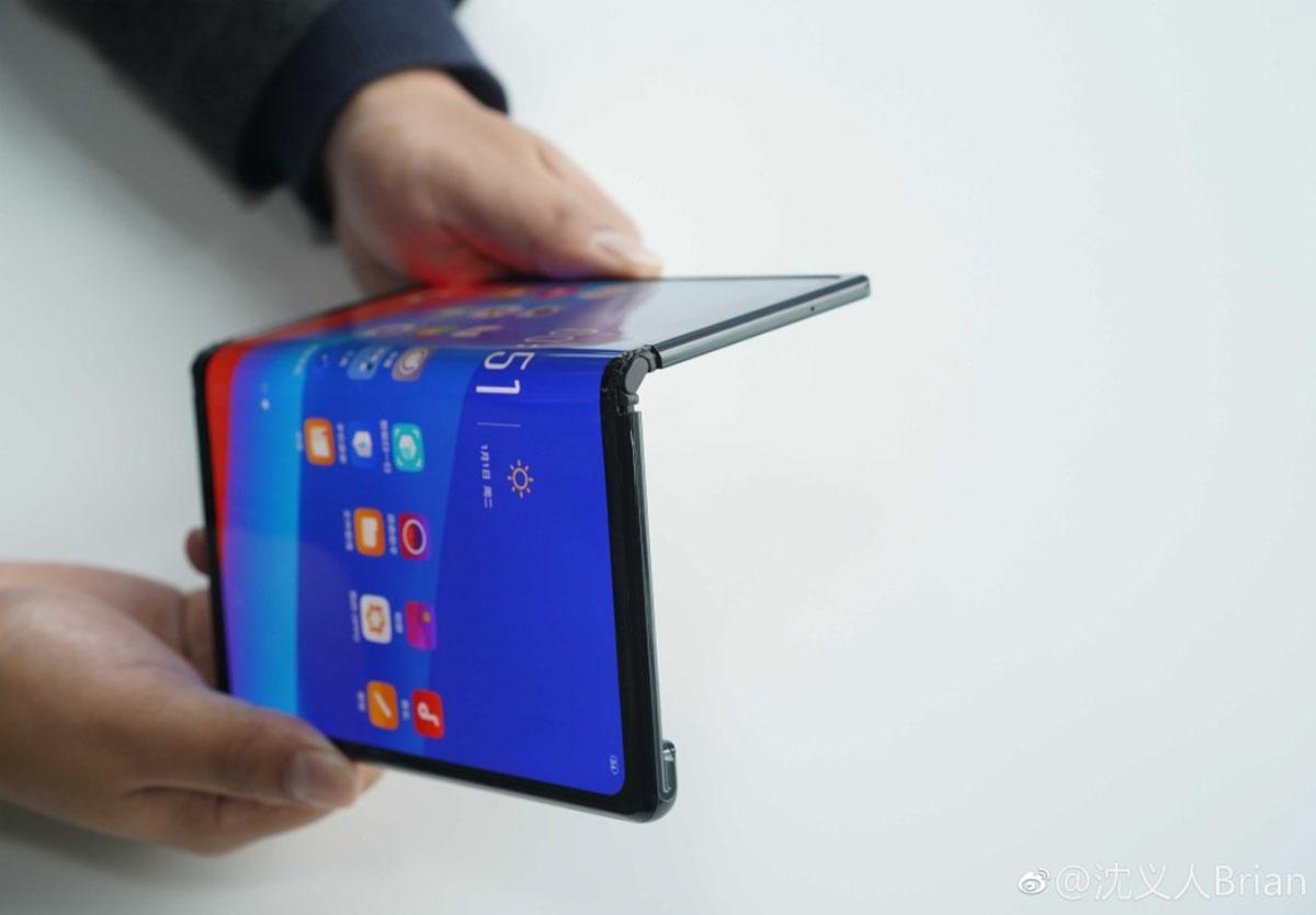 Oppo lève le voile sur le jumeau du Huawei Mate X
