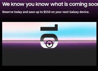 Les précommandes du Samsung Galaxy S10 sont déjà ouvertes
