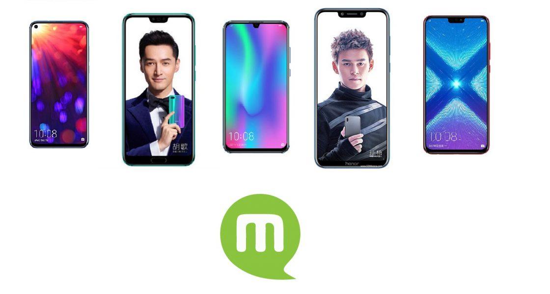 smartphone Honor