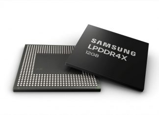 La puce 12 Go RAM de Samsung