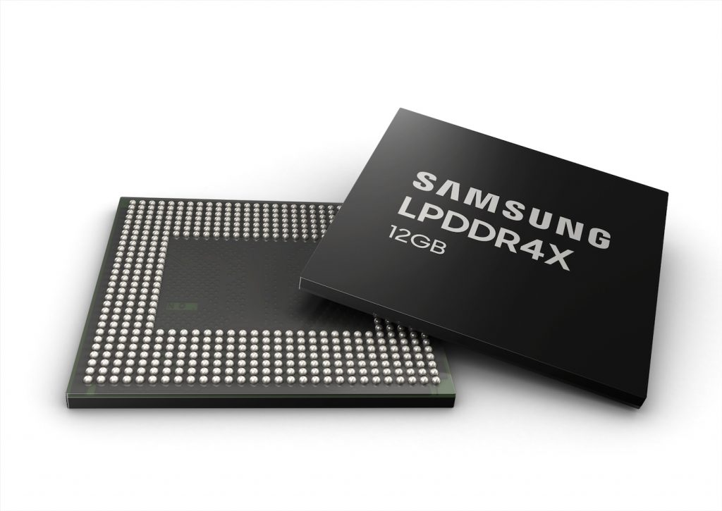 Puce de 12 Go de RAM en approche, coucou Galaxy Note 10 ?