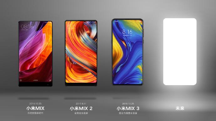Xiaomi tease un nouveau smartphone de la gamme Mi Mix