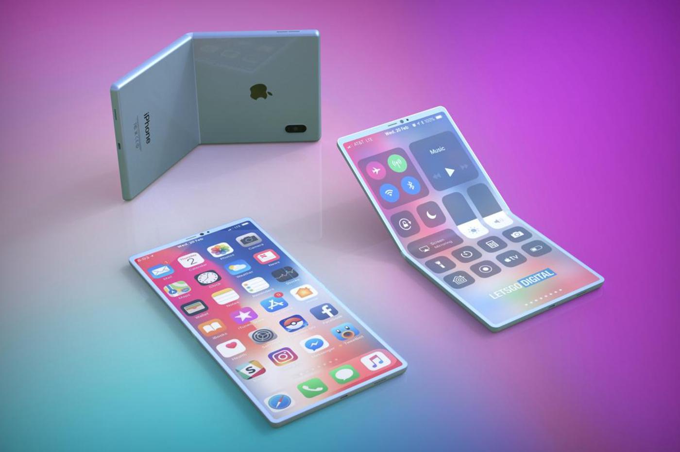 iPhone pliable : Samsung Display aurait commencé la livraison d'écrans flexibles à Apple