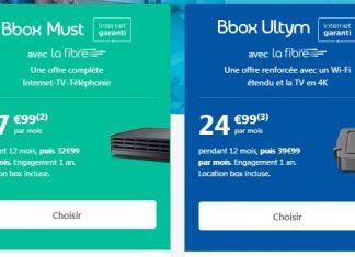 Les Bbox Must et Ultym de Bouygues Telecom