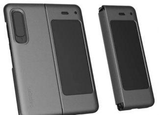 Une coque Spigen pour le Samsung Galaxy Fold