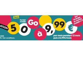 Forfait 50 Go de Sosh prolongé