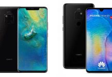 Huawei Mate 20 Pro et Mate 20