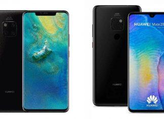 Huawei Mate 20 Pro et Mate 20