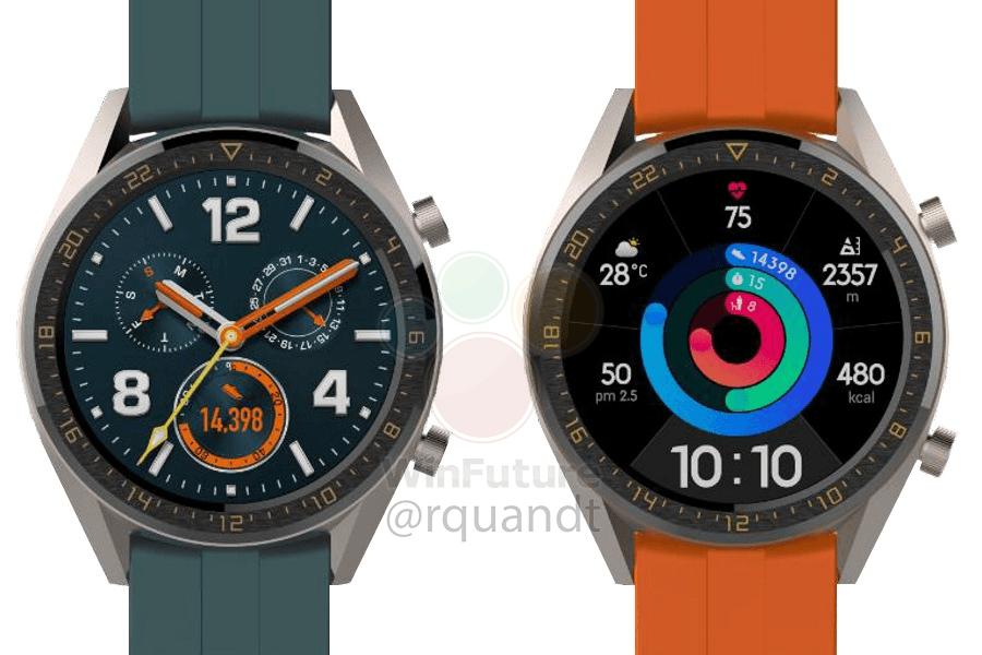 Huawei : deux montres Watch GT risquent de débarquer très vite !