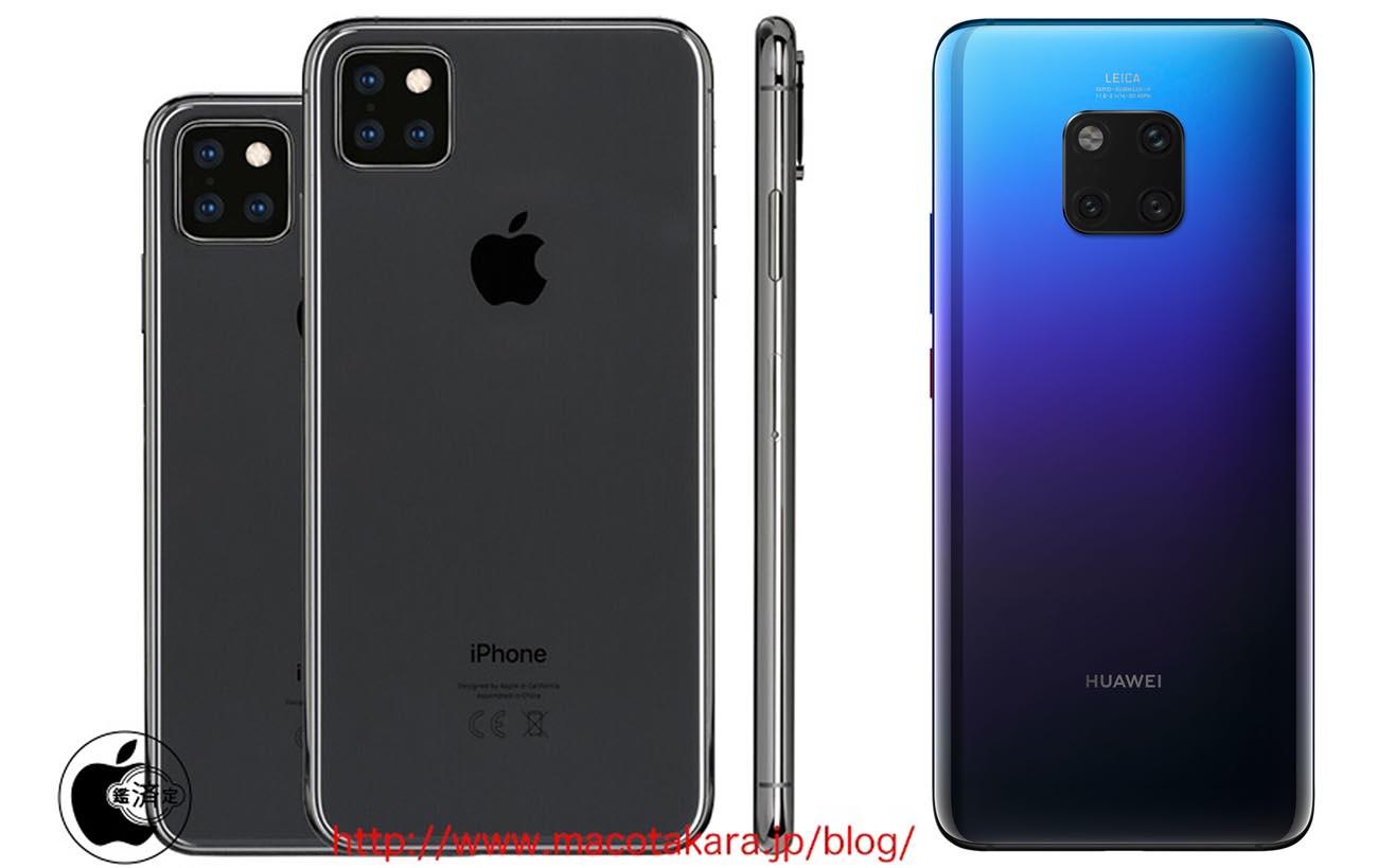 iPhone 11 : un triple capteur prévu ?