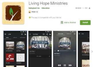 L'application Living Hope Ministries