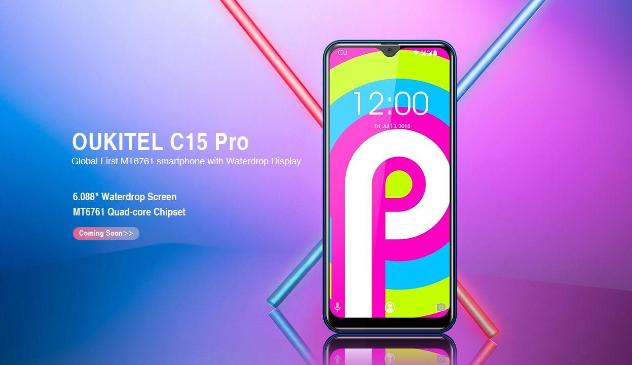 Oukitel C15 Pro : un smartphone entrée de gamme pour les petits budgets