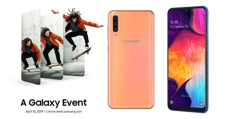 Samsung va présenter trois nouveaux smartphones Galaxy le 10 avril prochain
