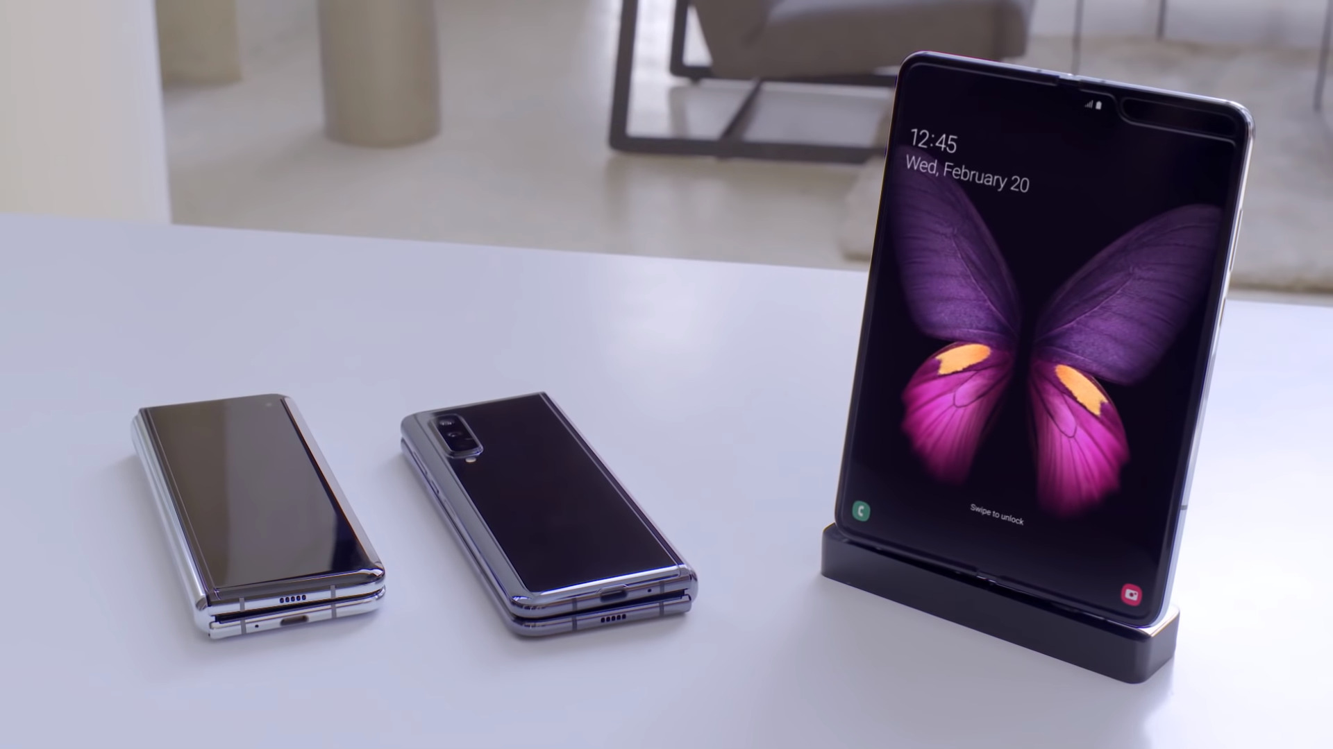 Samsung : l'écran du Galaxy Fold peut supporter 200 000 cycles de pliage