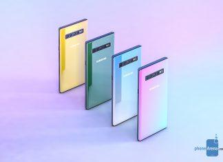 Un concept du Samsung Galaxy Note 10
