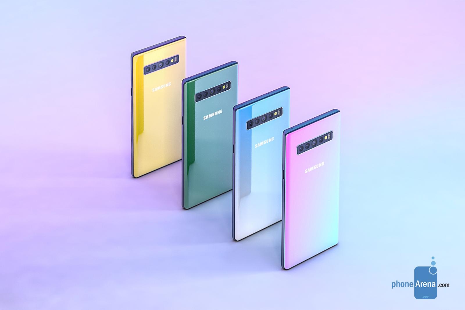 Les specs du Samsung Galaxy Note 10 fuitent déjà dans un brevet !