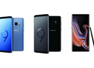 Samsung Galaxy S9, S9+, Note 9