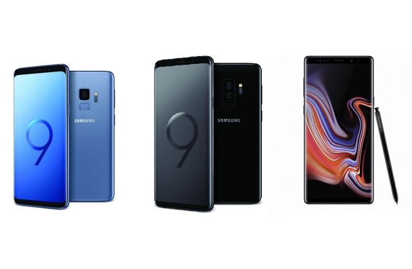 Bon plan : Samsung Galaxy S9, S9+ et Note 9 en promo ce week-end chez Fnac !