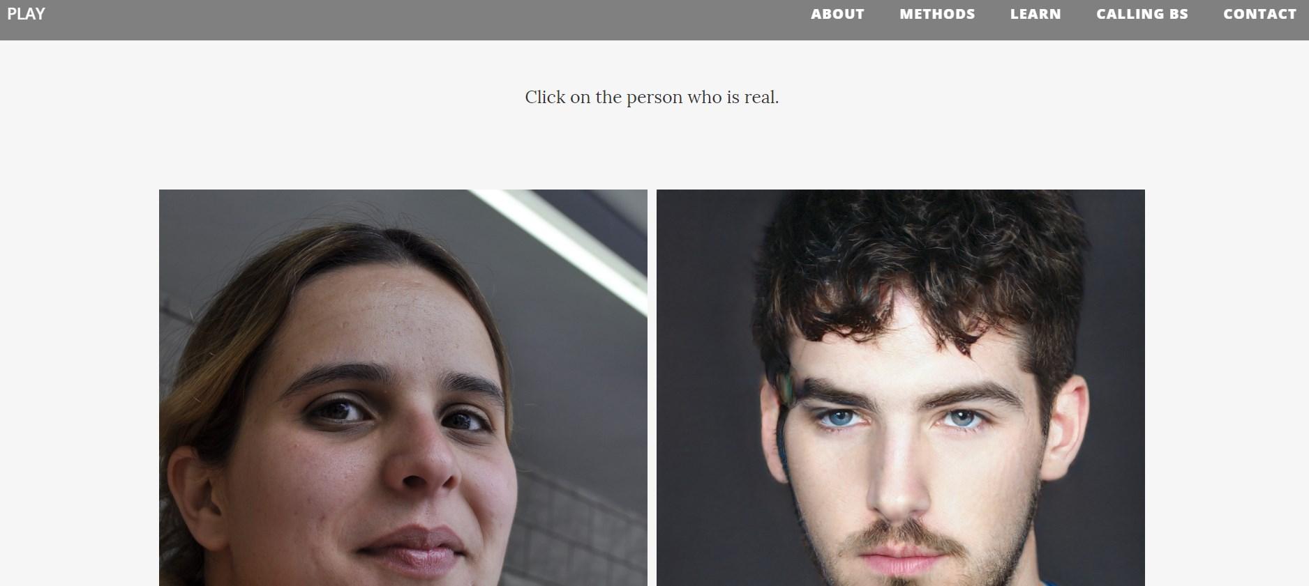 Êtes-vous capable de différencier les visages générés par une intelligence artificielle des visages réels ?