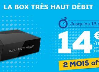 Grosse promo sur les box La Poste Mobile