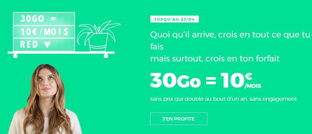 Bon plan : lumière sur les nouvelles offres forfait mobile et box de RED by SFR