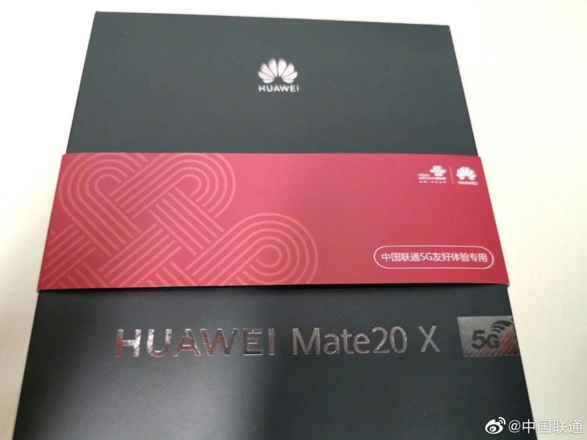 Le Huawei Mate 20 X dévoilé en photo ?