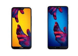 Huawei P20 Lite et Huawei P20