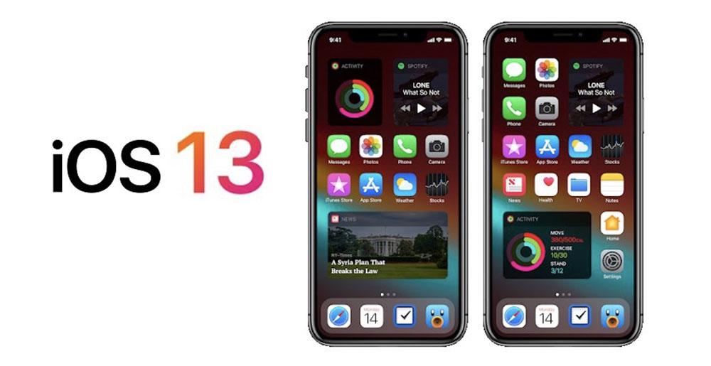 iOS 13 : Apple prévoit des nouveautés