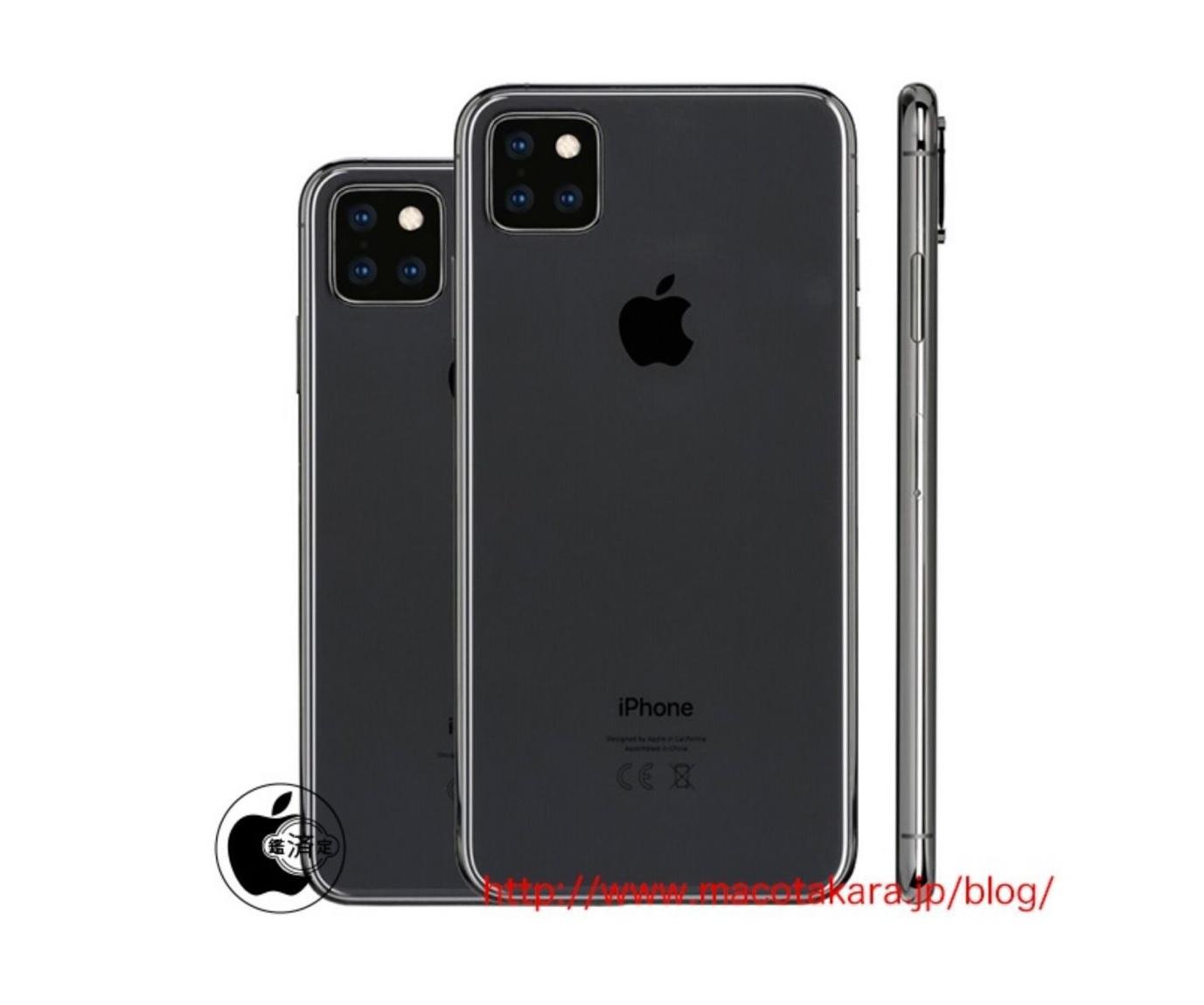 iPhone 2019 - Source : Macotakara
